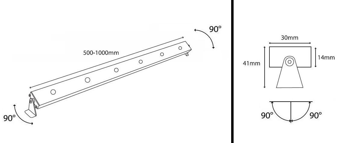led profile move 1 cv mp illumination